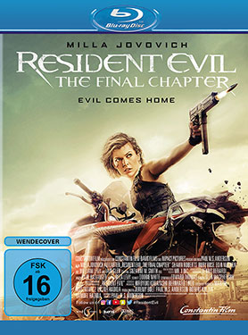Resident Evil - The Final Chapter Blu-ray Review Cover