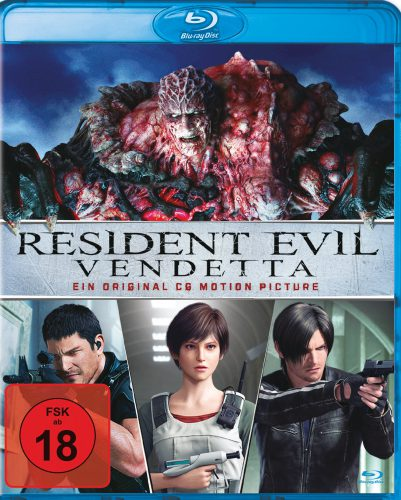 Resident Evil Vendetta Blu-ray Review Cover