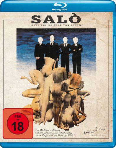 Salò oder die 120 Tage von Sodom Blu-ray Review Cover