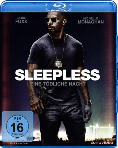 Sleepless - Eine tödliche Nacht Blu-ray Review Cover