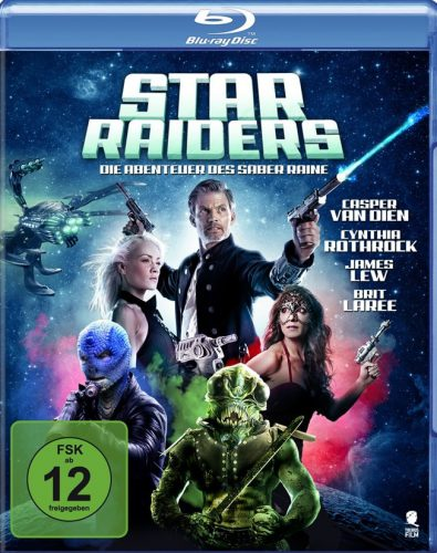 Star Raiders - Die Abenteuer des Saber Raine Blu-ray Review Cover1