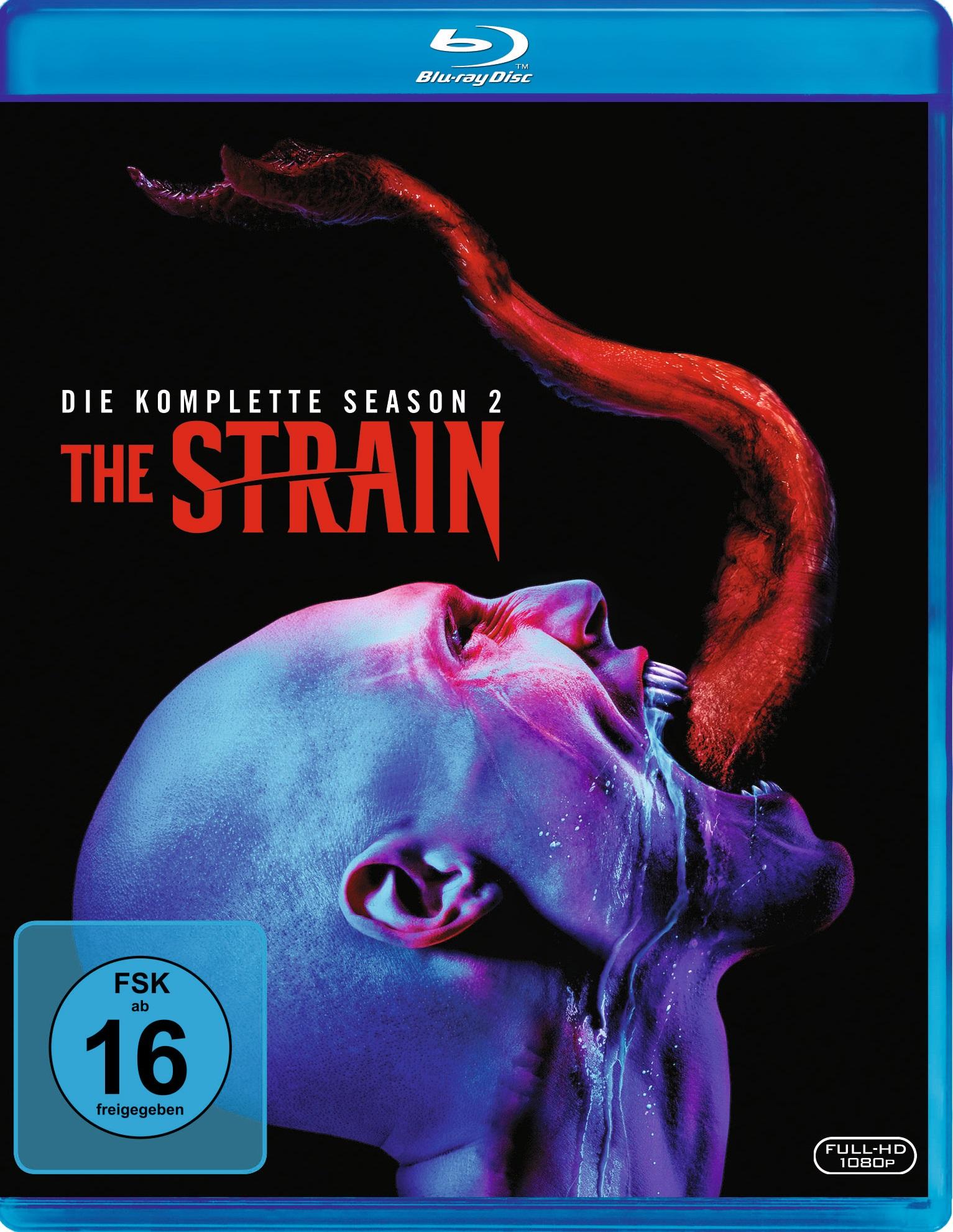 Blu-ray Kritik | The Strain - Season 2 (Full HD Review, Rezension)
