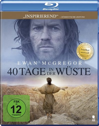 40 Tage in der Wüste Blu-ray Review Cover
