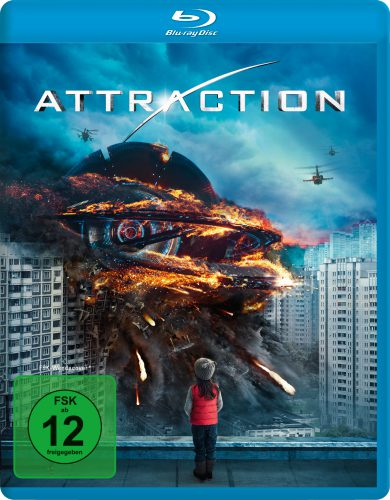 Attraction Blu-ray Review Cover