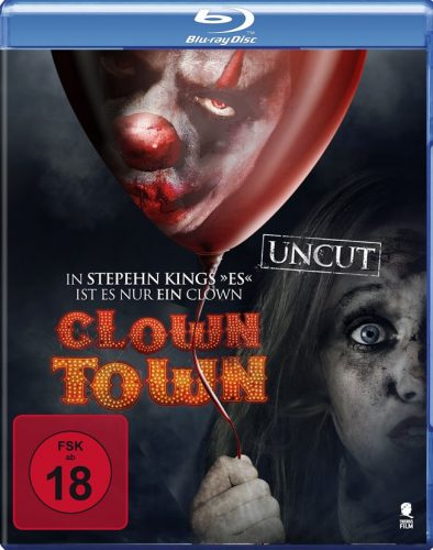 Clowntown Blu-ray Review Cover