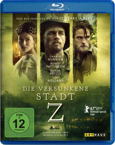 Die versunkene Stadt Z Blu-ray Review Cover