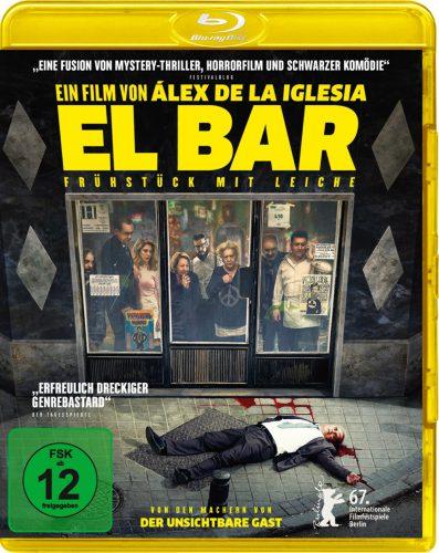 El Bar - Frühstück mit Leiche Blu-ray Review Cover