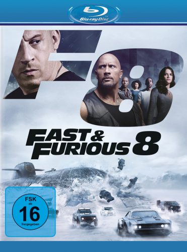 Fast & Furious 8 Blu-ray Review Cover