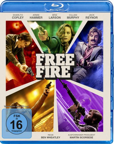 Free Fire Blu-ray Review Cover