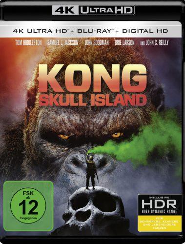 Kong Skull Island 4K UHD Blu-ray Review Cover