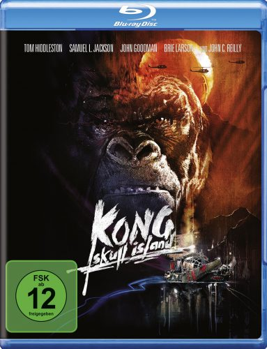 Kong Skull Island Blu-ray Review Cover