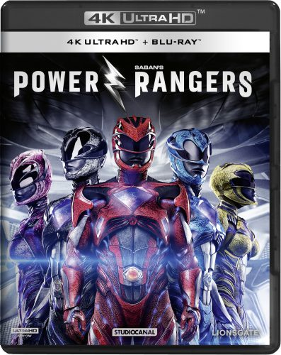 Power Rangers 2017 4K UHD Blu-ray Review Cover