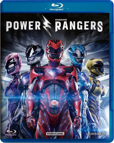 Power Rangers 2017 Blu-ray Review Cover
