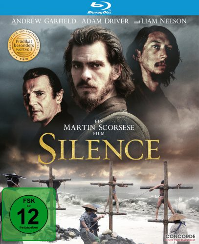 Silence Blu-ray Review Cover