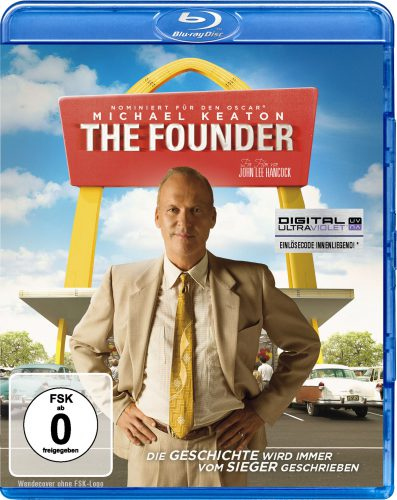 The Founder Blu-ray Review Cover