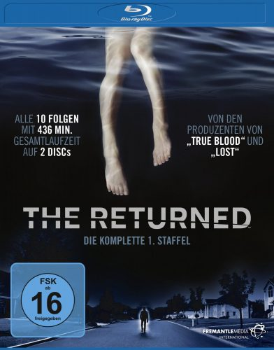 The Returned Remake - komplette erste Staffel Season 1 Blu-ray Review Cover (2)