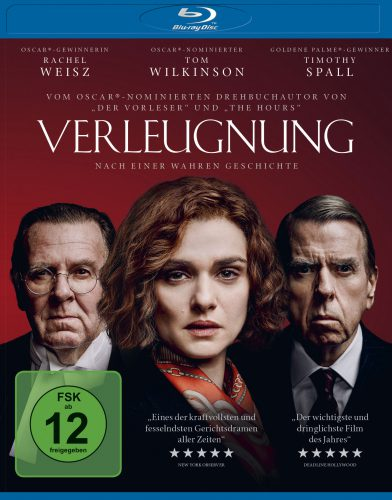 Verleugnung Blu-ray Review Cover