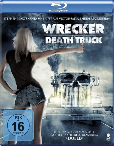 Wrecker - Death Truck Blu-ray Review Cover-min