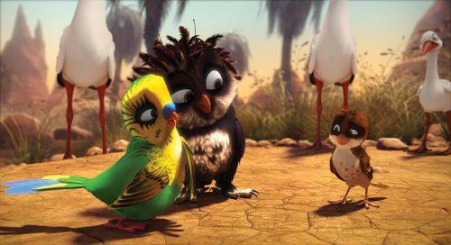 Überflieger - Kleine Vögel, großes Geklapper Blu-ray Review Szene 1