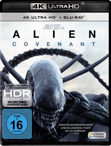 Alien Covenant 4K UHD Blu-ray Review Cover