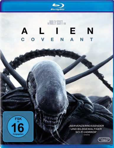 Alien Covenant Blu-ray Review Cover
