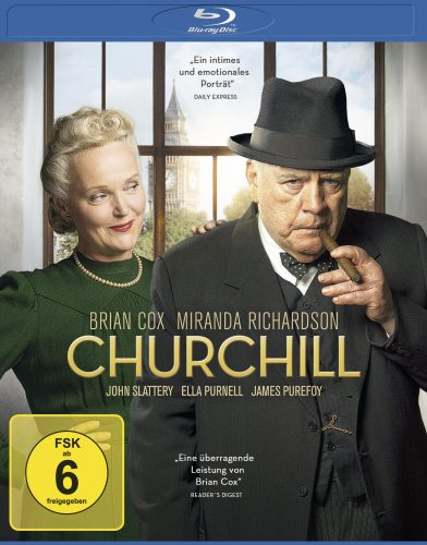 Churchill Blu-ray Review Cover