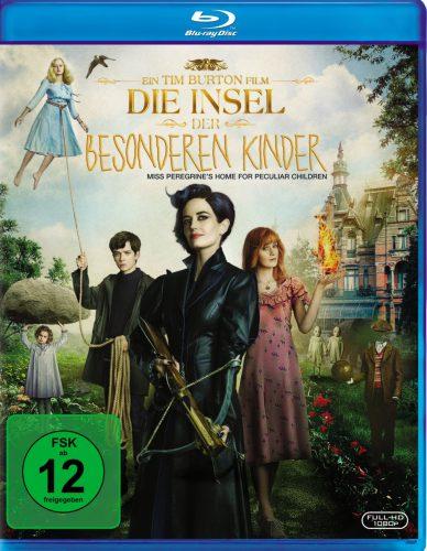 Die Insel der besonderen Kinder Blu-ray Review Cover