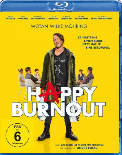 Happy Burnout Blu-ray Review Cover