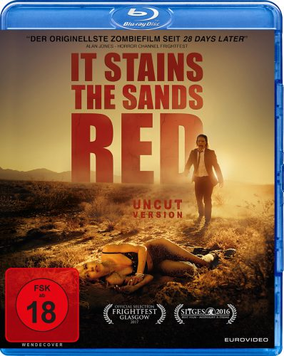 It Stains the Sands Red Blu-ray Review Cover