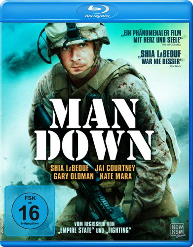 Man Down Blu-ray Review Cover