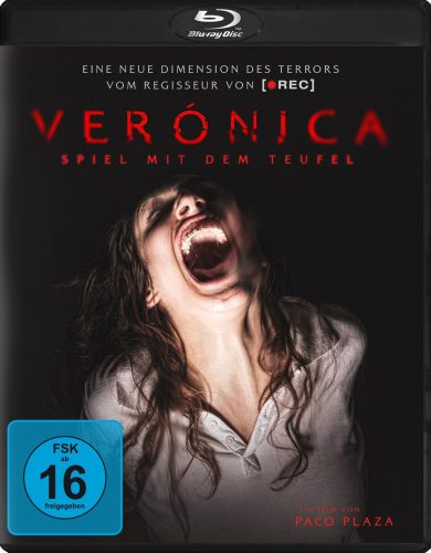 Veronica Spiel mit dem Teufel Blu-ray Review Cover