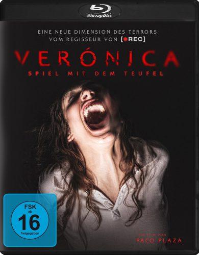 Veronica Spiel mit dem Teufel Blu-ray Review Cover