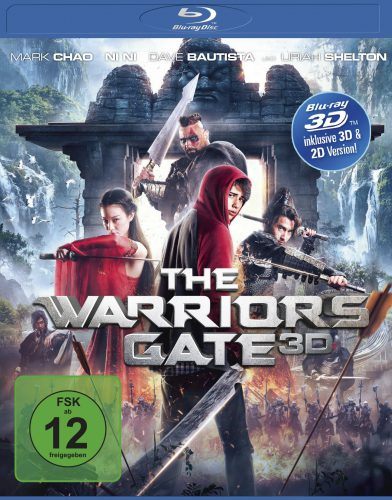 Warriors Gate 3D Blu-ray Review Cover