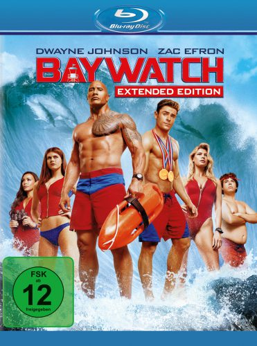 Baywatch Extended Edition Blu-ray Review Cover