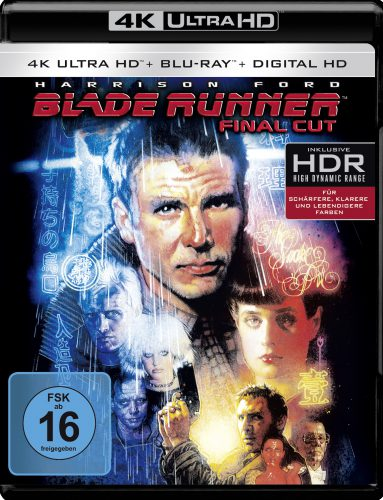 Blade Runner Final Cut 4K UHD Blu-ray Review Cover