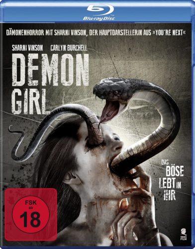 Demon Girl - Das Böse lebt in ihr Blu-ray Review Cover-min