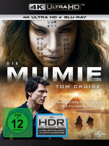 Die Mumie 4K UHD Blu-ray Review Cover
