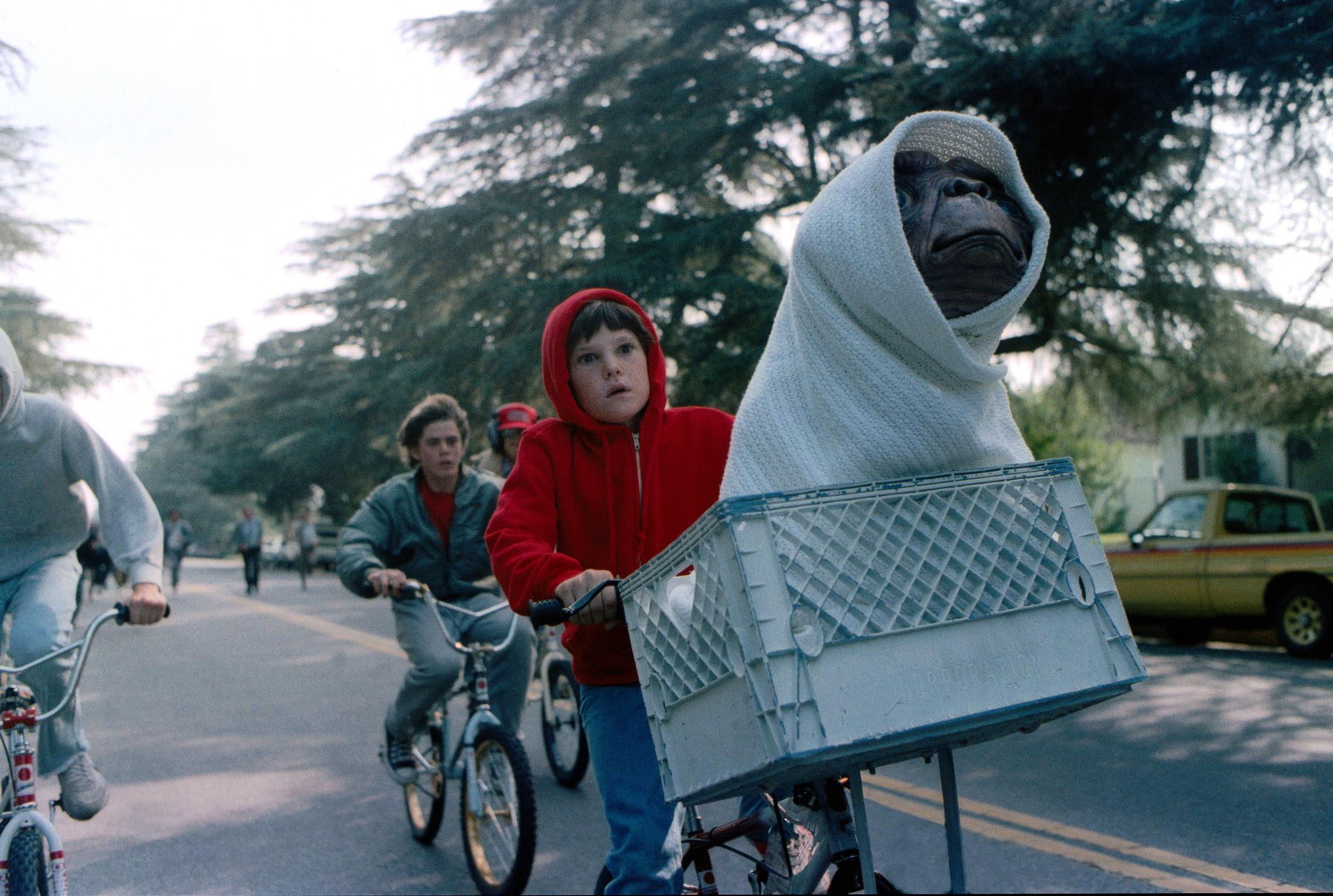 E.T. Der Außerirdische 4K UHD Blu-ray Review Szene 3
