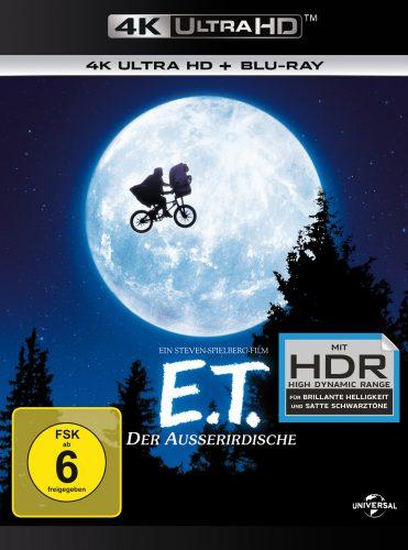 E.T. Der Außerirdische 4K UHD Blu-ray Review Cover