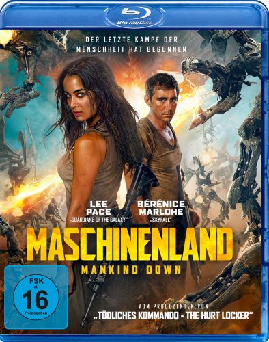 Maschinenland - Mankind Down Blu-ray Review Cover