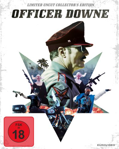Officer Downe - Seine Stadt. Sein Gesetz. Blu-ray Review Cover