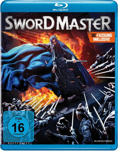 Sword Master 3D Blu-ray Review Cover
