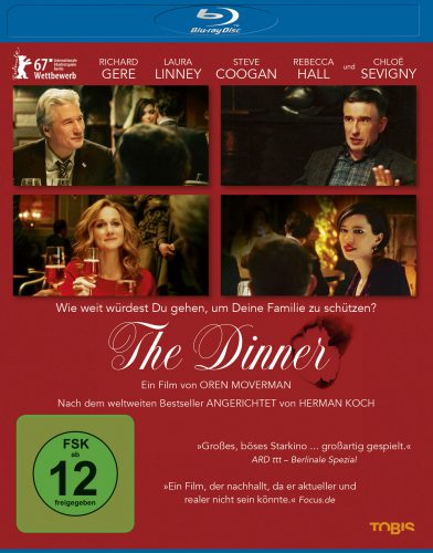 The Dinner Blu-ray Review Cover