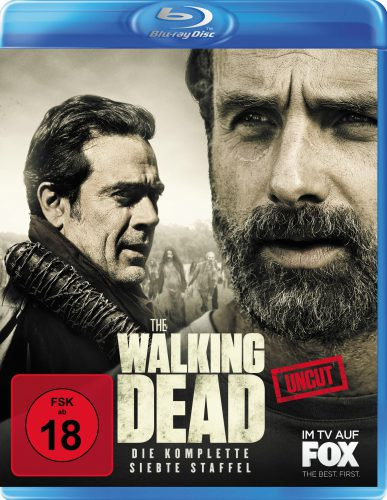 The Walking Dead komplette siebte Staffel Blu-ray Review Cover