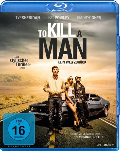 To Kill a Man - Kein Weg zurück Blu-ray Review Cover