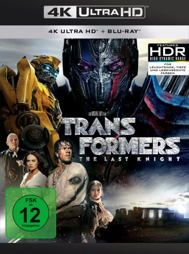 Transformers The Last Knight 4K UHD Blu-ray Review Cover