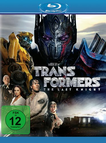 Transformers The Last Knight Blu-ray Review Cover