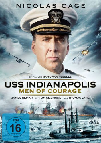 USS Indianapolis - Men of Courage Blu-ray Review Cover