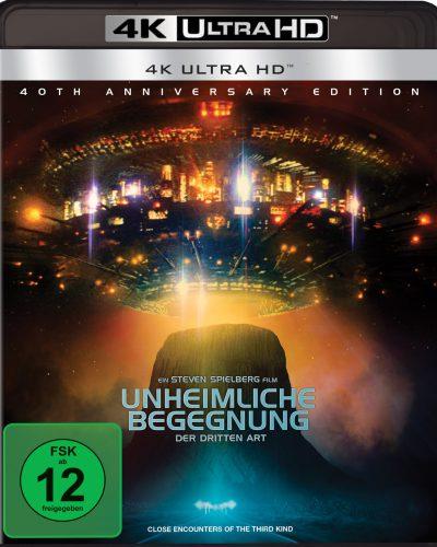Unheimliche Begegnung der dritten Art 4K UHD Blu-ray Review Cover