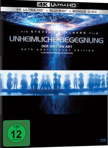 Unheimliche Begegnung der dritten Art 4K UHD Blu-ray Review Cover A